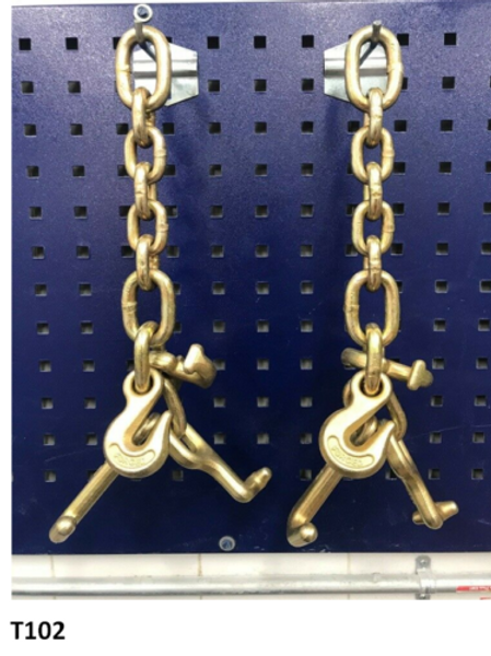 2 Piece Heavy Tie Down Hook Cluster