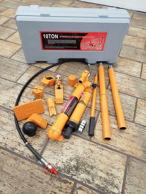 10 Ton Porta Power Hydraulic Jack Auto Body Frame Repair Kit