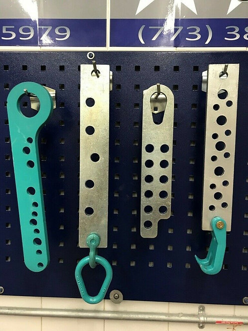 Multi Hole Puller Pull Plates Draw Bar set claw