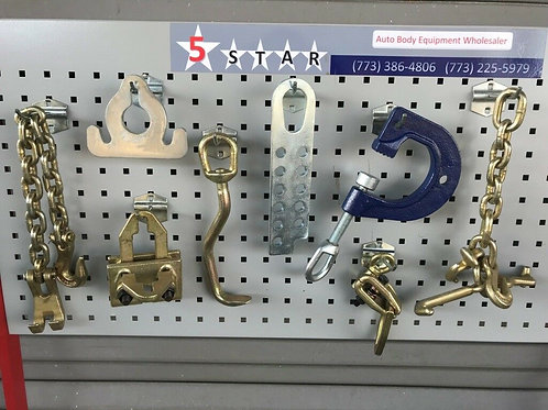 8 PIECES TOOLS CHAINS CLAMP SET