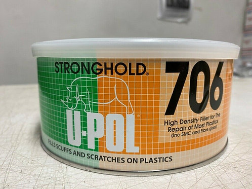 U-Pol 706 Stronghold Smooth High Adhesion Body Filler for Plastics Upol UP7061