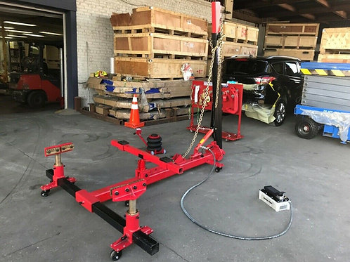 2 Clamp Portable  Auto Body Puller Frame Straightener