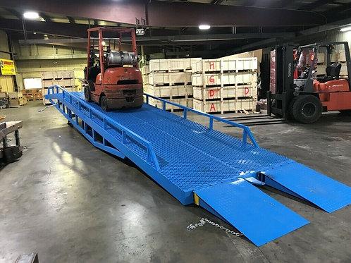 Yard Ramp, Trailer loading Dock, Forklift Ramp