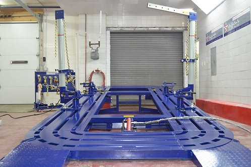 18 FEET 2 TOWER AUTO BODY FRAME MACHINE