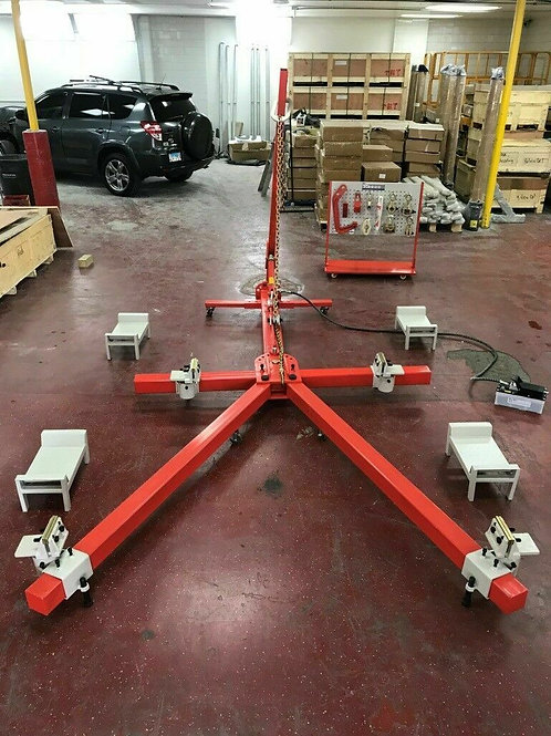 4 Clamp Portable  Auto Body Puller Frame Straightener