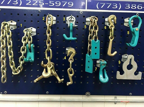 9 PIECE TOOL CHAIN SET