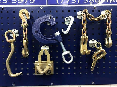 7 PIECE CLAMPS CHAIN HOOK CLAW