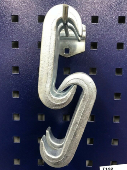 2 Pieces Double Claw Hook Chain Sorter