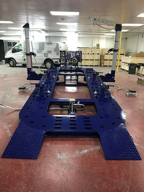 18 FEET AUTO BODY FRAME MACHINE HEAVY DUTY  2 TOWERS