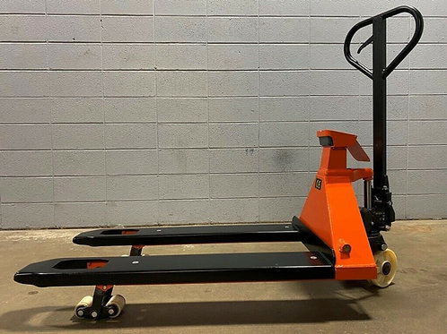 4400 LBS PALLET JACK WITH BUILT IN SCALE MANUAL