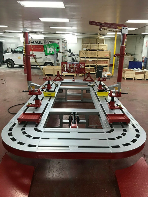16 FEET 2 TOWER AUTO BODY FRAME MACHINE