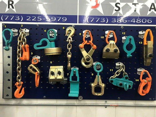 14 PIECE TOOL AND CLAMP SET