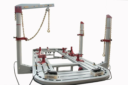 20 Feet Long Auto Body Shop Frame Machine WITH 3 TOWERS 360 DEGREE