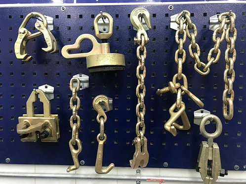 8 PIECE TOOLS & CLAMP