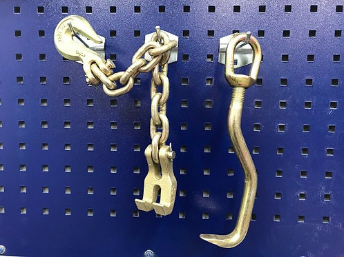 Mo Clamp Style Flat Nose Metal Pair L Shape Hook + CLAW