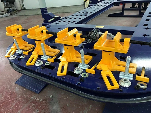 Auto Body Frame Machine Tie Down Anchoring Clamps