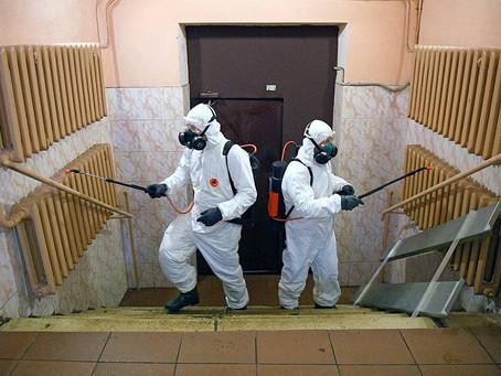 Дезинфекция помещений в Москве