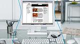 Aangepaste computerglazen vergemakkelijken het gebruik van PC, bij Optiek Depril.