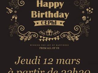 Le CEPhI fête ses 20 ans !