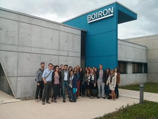 Visite du laboratoire Boiron à Strasbourg