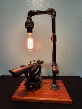 Antique Transit Lamp