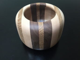 Walnut, Pine, and Maple