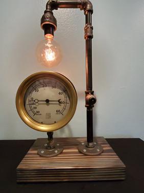 Vintage Brass Boiler Gauge