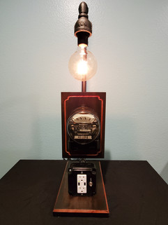 Antique Westinghouse Electric Meter with USB charger