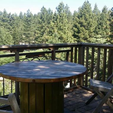 Zen Deck Peaceful View