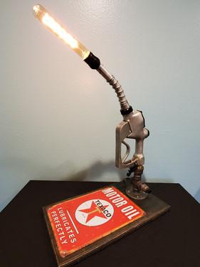 Texaco Antique Gas Pump Lamp
