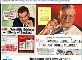 Did intactivists catch doctors with the smoking gun?