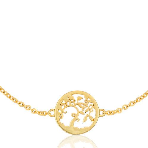 Talisman - Gold, Tree Bracelet
