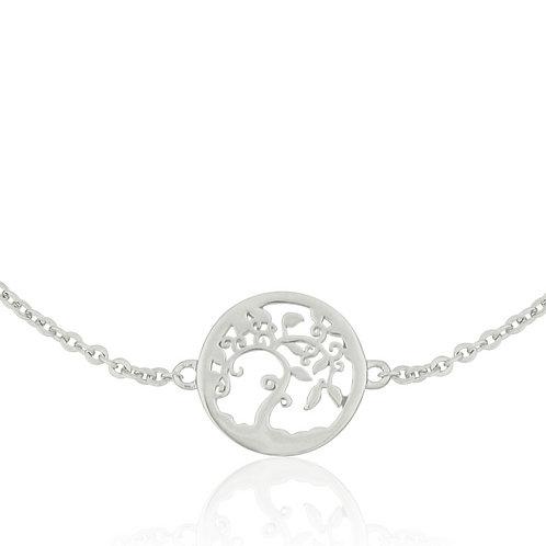 Talisman - Silver, Tree Bracelet