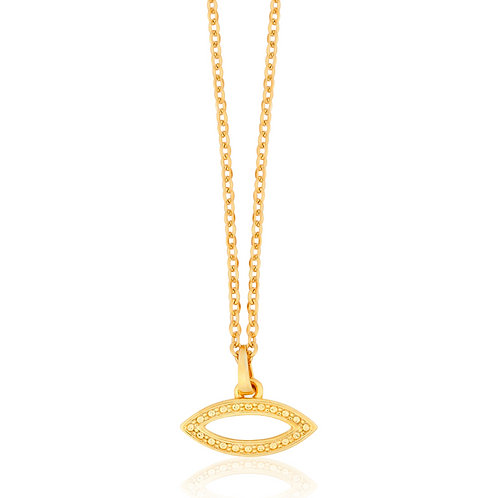 Talisman - Gold, Eye Necklace