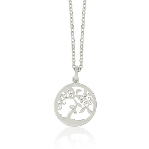 Talisman - Silver, Tree Necklace