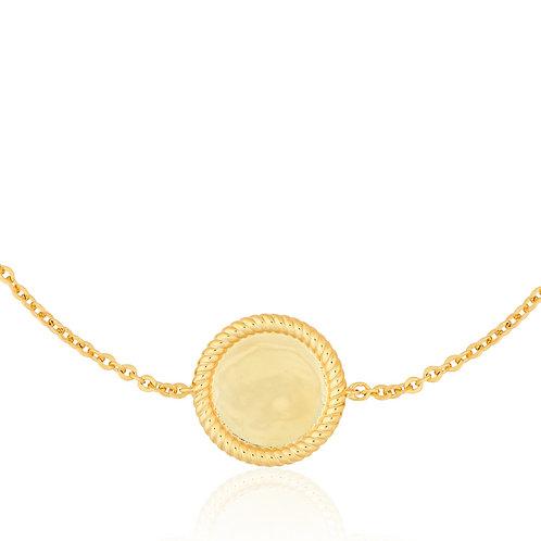 Signature - Gold, Coin Bracelet