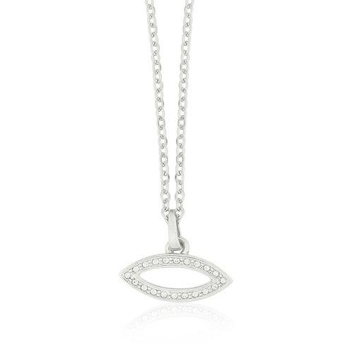 Talisman - Silver, Eye Necklace