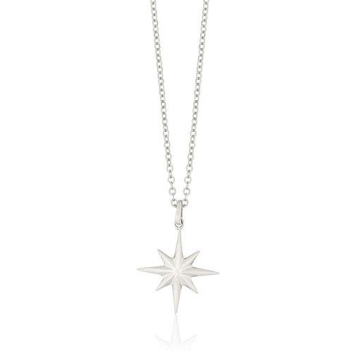 Cosmos - Silver, Star Necklace