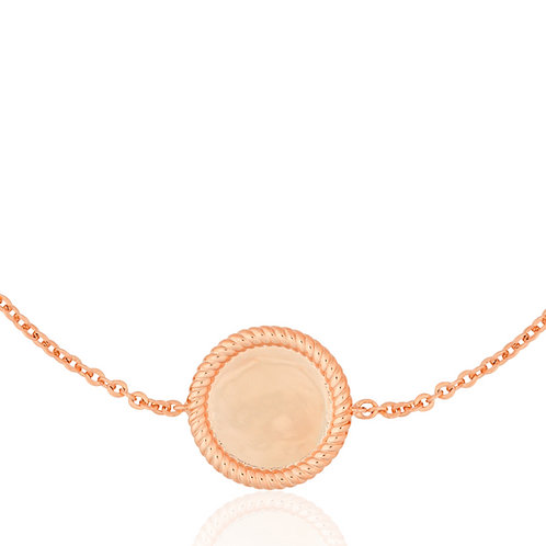 Signature - Rose Gold, Coin Bracelet