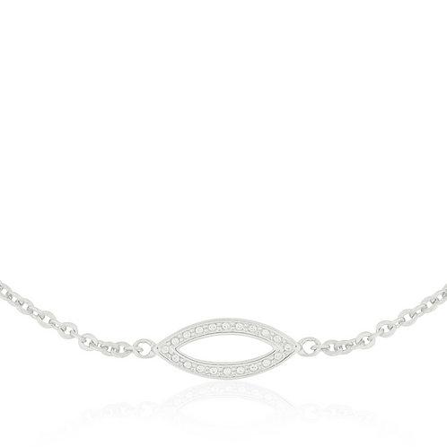 Talisman - Silver, Eye Bracelet
