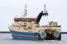 Merike tripple trawler. ( ex Regina C )