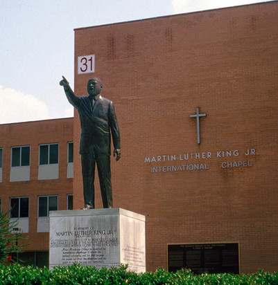 Martin Luther King, Jr. Monument at Morehouse College Chapel