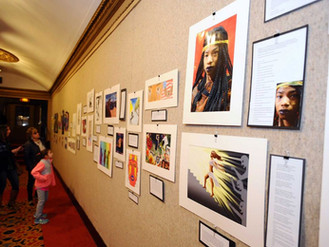 Stamford Community Art Reception
