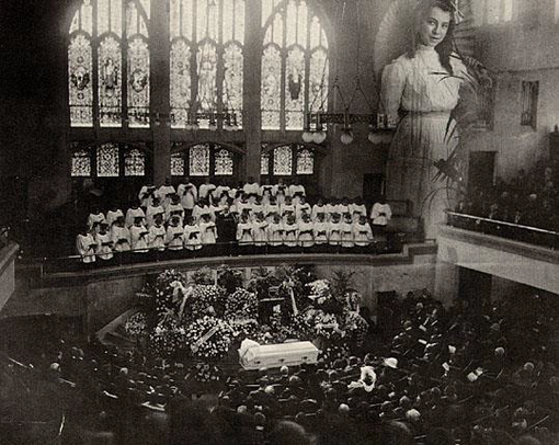 Funeral of Blanche Powell