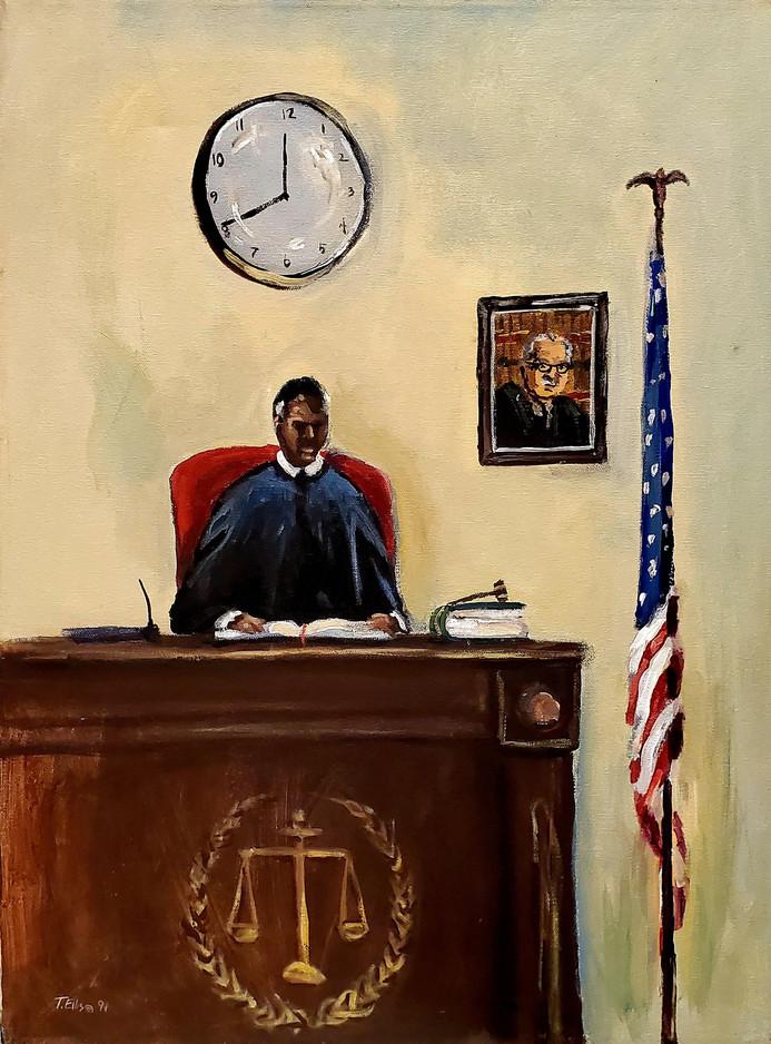 9. Sworn to Serve