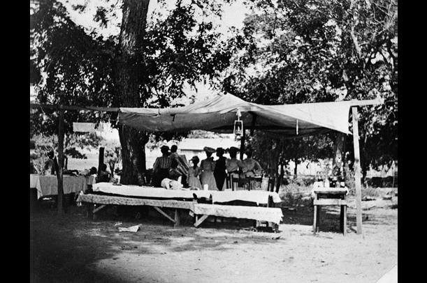 Picnic At Emancipation Day Celebration, June 19, 1900