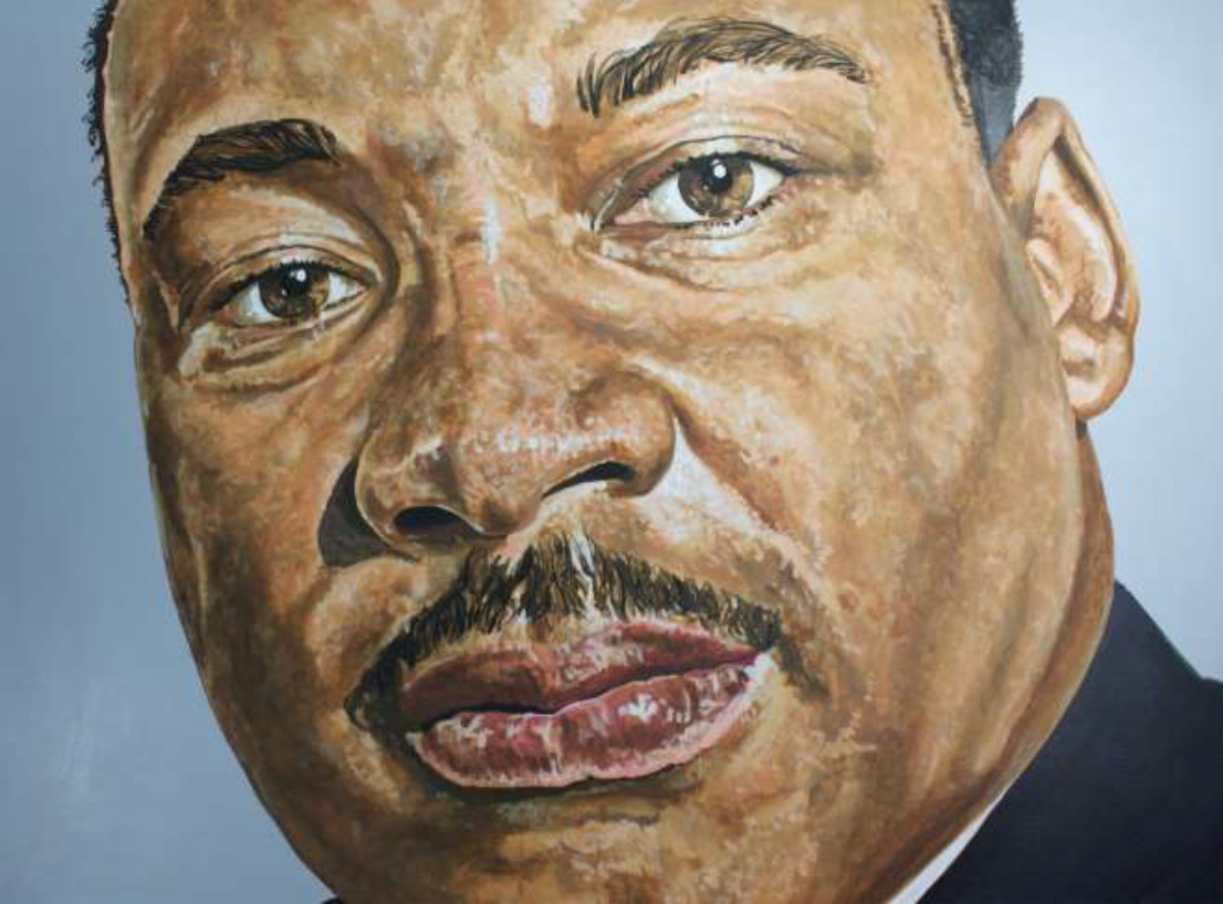 33. Close-up of Martin Luther King, Jr.
