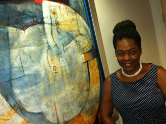 Stamford Native Carves Out Her Niche In Corporate Art Field