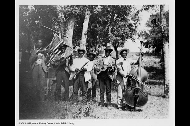 Emancipation Day Celebration Band, June 19, 1900