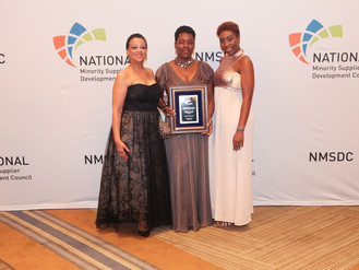 Stamford's Picture That Honored by Prestigious National Organization as Regional Supplier of Year